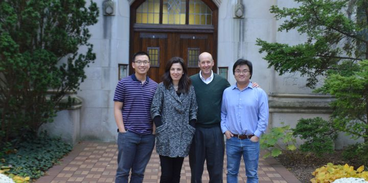 MSU NSF grant team including Hanzhe Zhang, Sinem Mollaoglu, Kenneth Frank and Jiliang Tang.