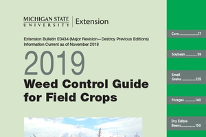 Cover of Weed Control Guide for Field Crops