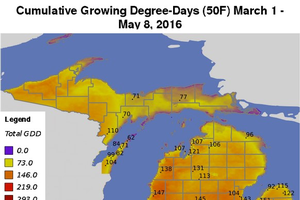 New growing degree-day maps on Enviro-weather