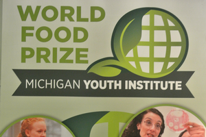 Neha Middela represents Michigan at 2017 World Food Prize Global Youth Institute