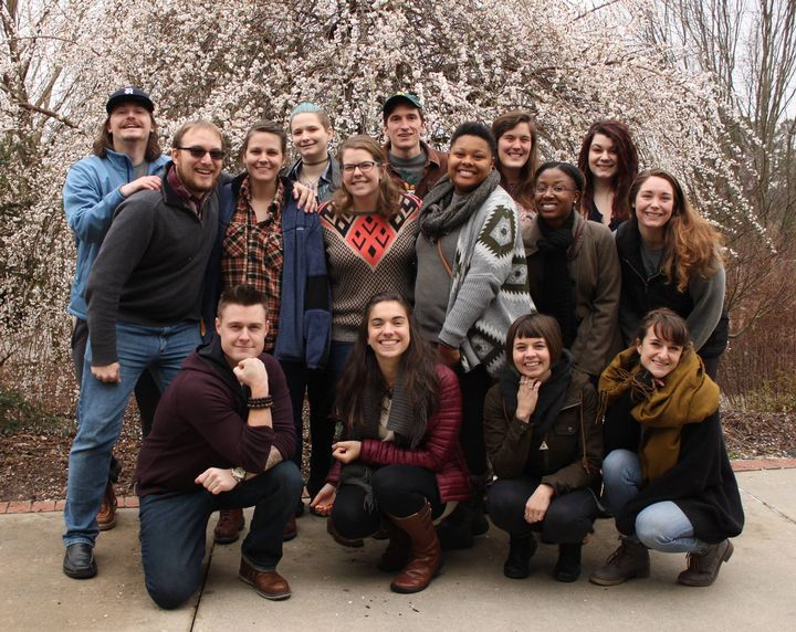 2017 FoodCorps members. (Photo courtesy of FoodCorps MI).