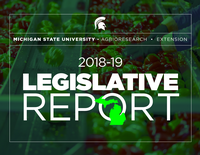 2018-19 Legislative Report cover