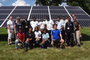 Michigan 4-H Renewable Energy Camp goes solar
