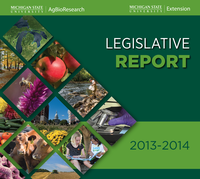 2013-2014 Legislative Report Cover