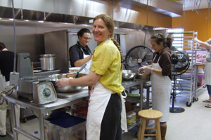 Kalamazoo's Can-Do Kitchen, a project of Fair Food Matters. Courtesy of Fair Food Matters.