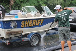Michigan Clean Boats, Clean Waters Program awards $19,800 to stop the spread of aquatic invasive species