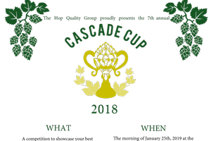 Hop producers encouraged to compete for the 2018 Cascade Cup