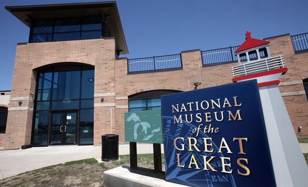 National Museum of the Great Lakes is located on the Maumee River in Toledo, Ohio. Courtesy photo