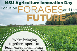 Focus on forages at MSU Ag Innovation Day