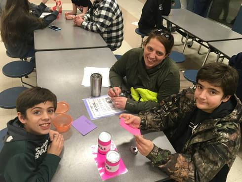 Families enjoyed 4-H Family STEM Night on Jan. 10, 2018. All photos by Tracy D'Augustino, MSU Extension.