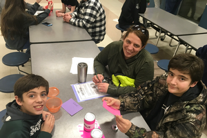 4-H Family STEM Night at Mio AuSable area school was a great success