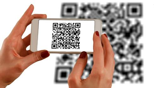 Qr codes using images