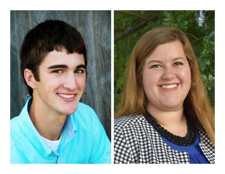 Darren Kulicamp and Lauren Heberling each received John and Barbara Dilland Scholarships.