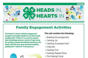Thumbnail of the Heads In, Hearts In Family Engagement Activities packet.