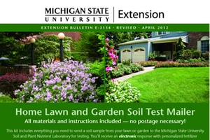 Start with a soil test for garden success