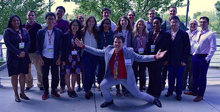 Photo of Planning Practicum students with faculty.