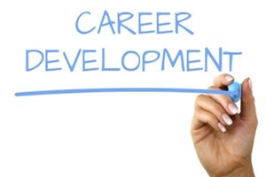 A hand writing career development