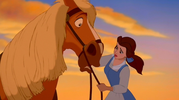 Phillipe, Belle's horse in The Beauty and the Beast, is actually a Belgian. | MSU Extension