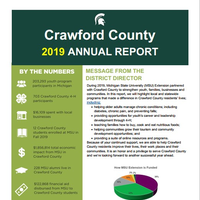 Cover of Crawford County Annual Report 2019