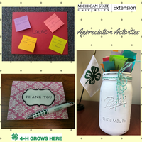 Consider adding of these appreciation activities to your team. Photo by Laurie Rivetto and Makena Schultz, MSU Extension.