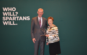 Mid Michigan College receives MSU Extension 2019 Key Partner Award