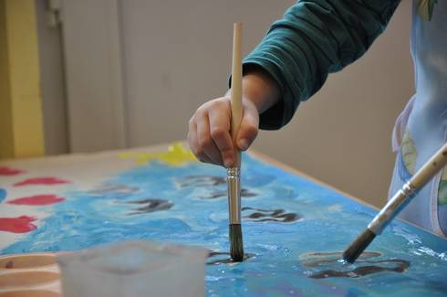 Children have the capacity to both create and appreciate art.