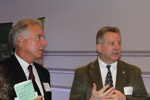 Chuck Ross and Bret Carlson during the 2013 ANR Week Luncheon