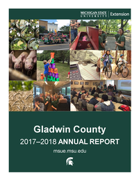 Cover of the Gladwin County Annual Report