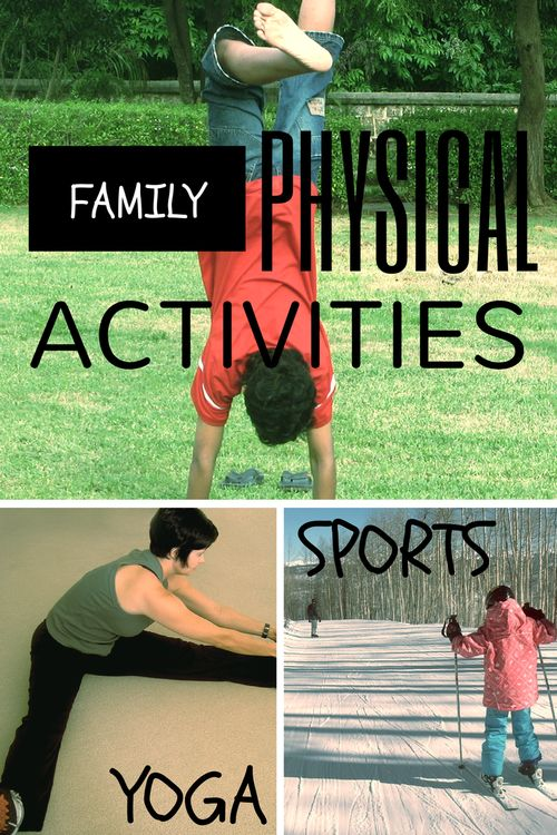 As a family, decide what activities everyone likes and are willing to participate in. Then make that activity a part of your everyday routine.