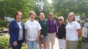 Extension Master Gardeners welcome Michigan's state coordinator to the Upper Peninsula
