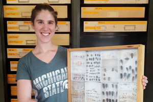 Friend and mentor inspired Louise Labbate to pursue career in entomology