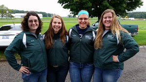 Michigan 4-H members compete in the National 4-H Dairy Cattle Judging Contest