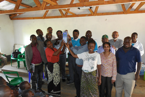Best practices training workshop on milk quality and safety for the Magomero Milk Bulking Group, Lilongwe.