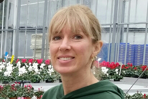 Jocelyn Lambe plans on being a greenhouse grower upon graduation from certificate program