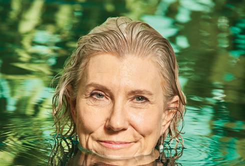 Joan Rose in the water