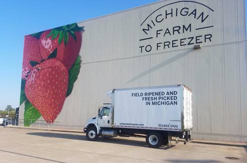 Michigan Farm to Freezer, one of ten 2018 Value-added grant recipients Photo https://mifarmtofreezer.com/