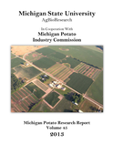 2013 Michigan Potato Research Report