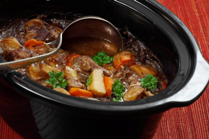 Quick and easy meals in the slow cooker