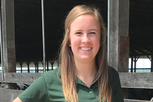 Colleen Potter is recipient of Cotter Endowed Scholarship from the Michigan Dairy Memorial and Scholarship Foundation for 2018-19