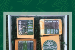 MSU Extension selling limited-time holiday gift box of Dairy Store cheese
