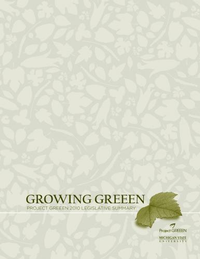 2010 Project GREEEN Legislative Summary Cover