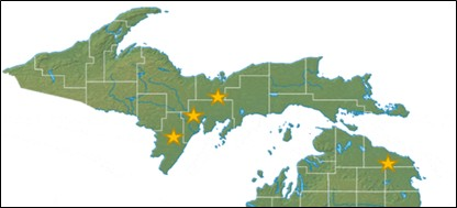 Northern variety trial locations.