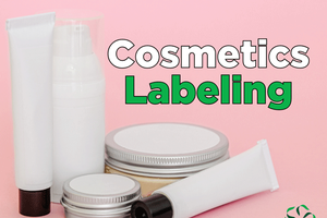 Cosmetics – Labeling