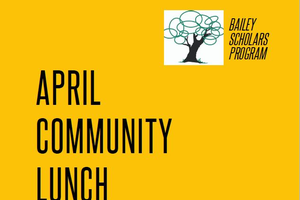 April Community Lunch