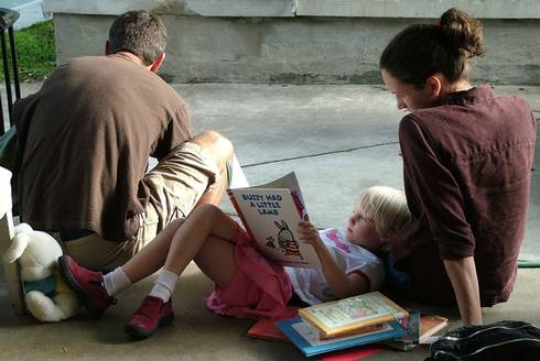 There are many ways to incorporate literacy activities into your day.  Photo credit: FreeImages.com/Ned Horton.