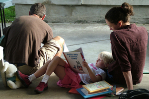 Reading can be included in every day opportunities