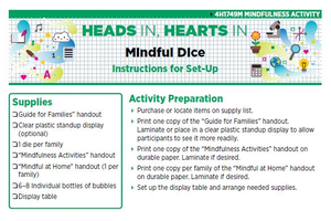 Heads In, Hearts In: Mindful Dice