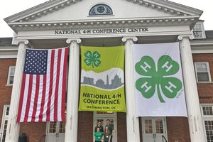 Michigan 4-H members share youth voice in Washington, D.C.