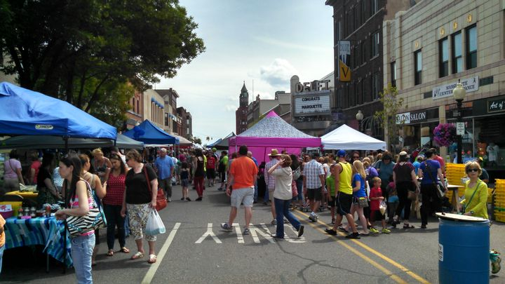 Downtown Marquette Blueberry Festival |Photo by: Brad Neumann