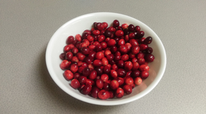 Freezing cranberries is easy